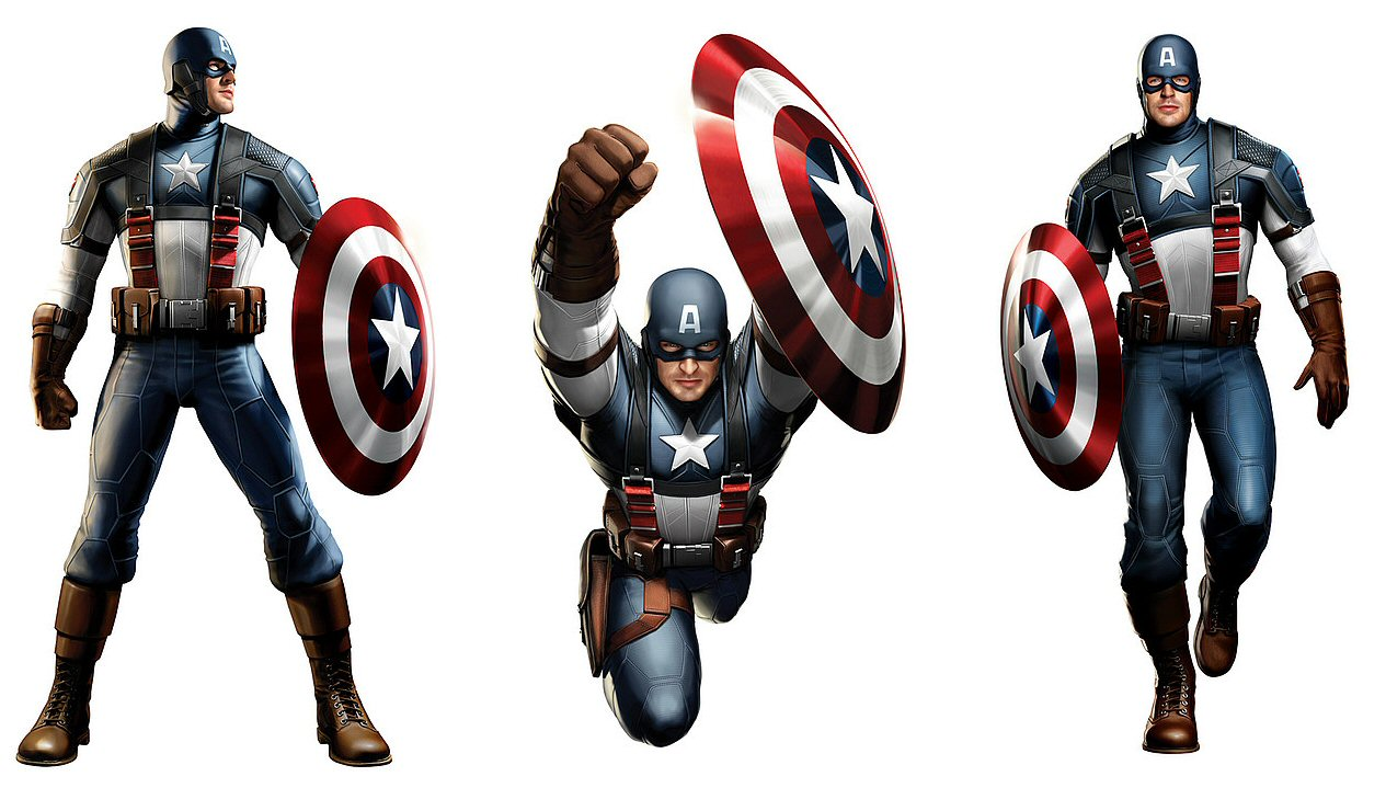 Captain America And Thor De-winged In Movie Concept Art